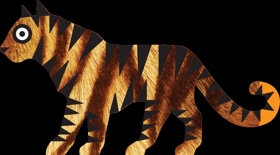 Amur Tiger Panthera Tigris Altaica Marwell Zoo Cartoon 2