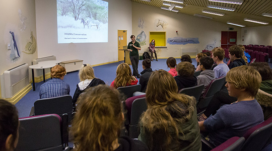 Education Workshop at Marwell Zoo